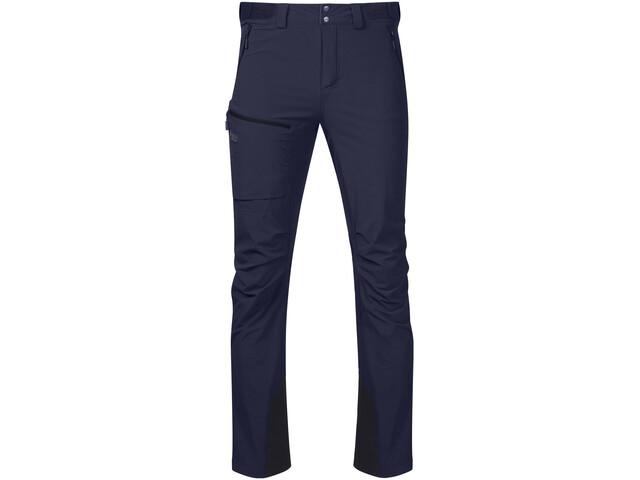 Bergans Breheimen Pantalon Softshell Homme, navy/dark navy